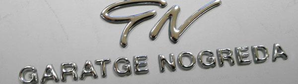 Fabricamos logotipos 3d con tecnología Ecodomes homologados para la industria del automóvil