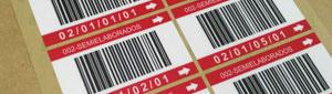 Fabricamos etiquetas adhesivas con código de barras
