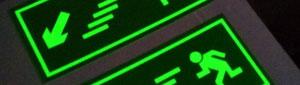 Fabricamos etiquetas adhesivas fotoluminiscentes