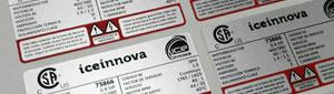 Fabricante etiquetas metálicas adhesivas