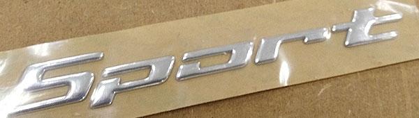 Fabricamos Lettering 3d en pvc termoconformado adhesivo con acabado metálico