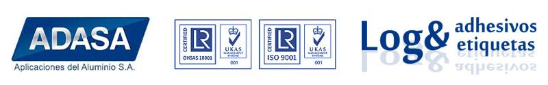 ADASA, Logo Adhesivos y Etiquetas