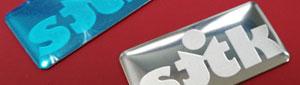 Fabricante de logotipos de acero inoxidable