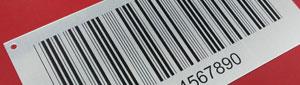 Fabricamos placas metálicas con código de barras