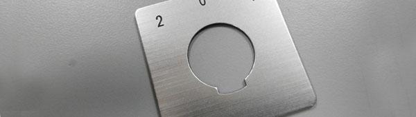 Fabricante de placas metálicas personalizadas