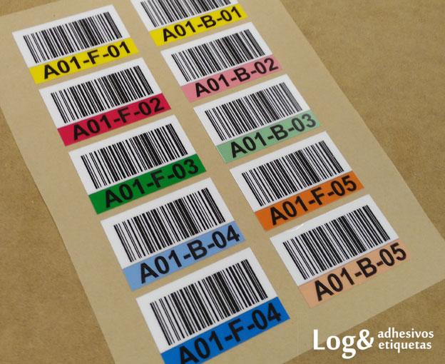Fabricante etiquetas adhesivas con c digo de barras - Suelo de policarbonato ...