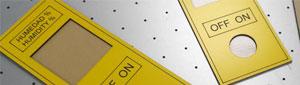 Fabricamos portamandos en Gravoply con grabado láser