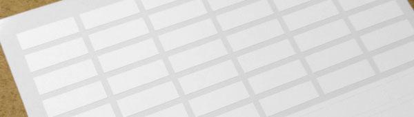 Los precintos de garantía permite su personalización con identificación secuencial, código de barras o código bidi
